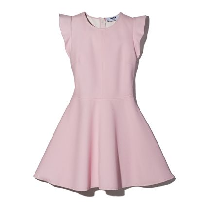 Clothing, Pink, Dress, Day dress, Cocktail dress, Neck, A-line, Sleeve, Collar, Formal wear,