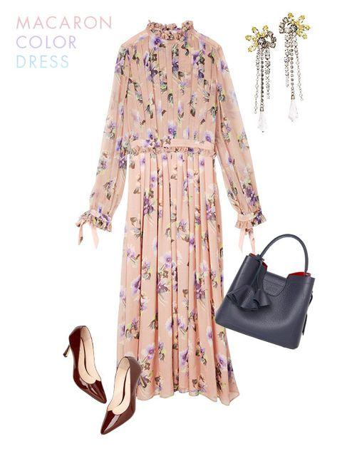 Clothing, White, Dress, Sleeve, Pink, Fashion, Footwear, Robe, Day dress, Neck,