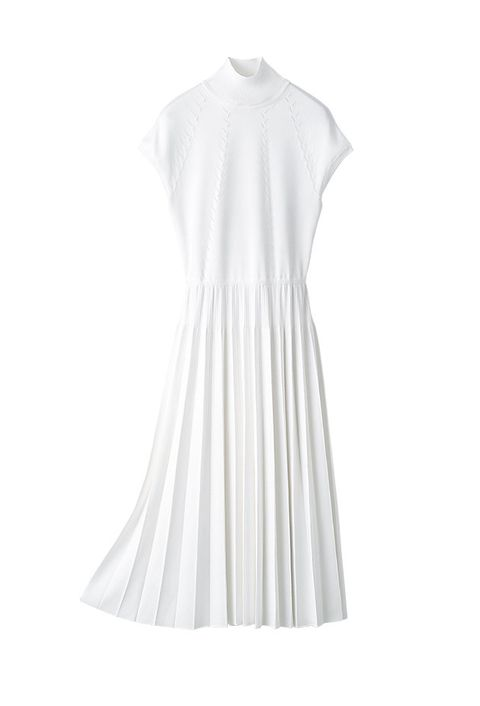 Clothing, White, Dress, Day dress, Sleeve, Neck, A-line, Cocktail dress, Gown,