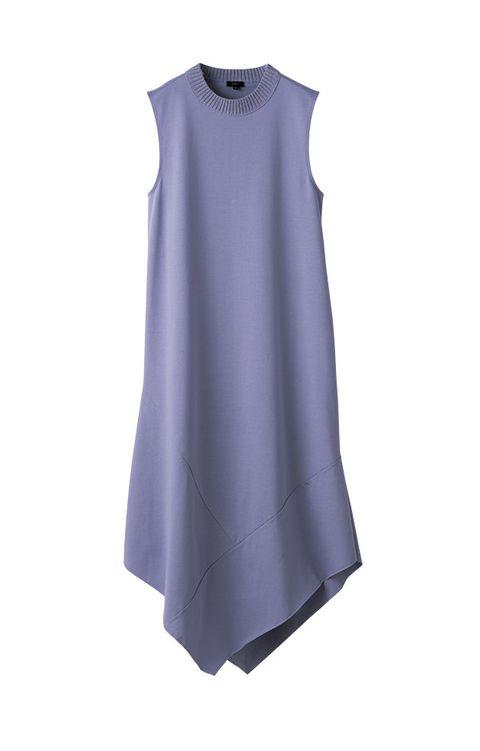 Clothing, White, Purple, Violet, Sleeveless shirt, Dress, Lilac, Outerwear, Sleeve, Blouse,