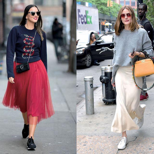 Clothing, Street fashion, White, Photograph, Orange, Fashion, Pink, Waist, Snapshot, Footwear,