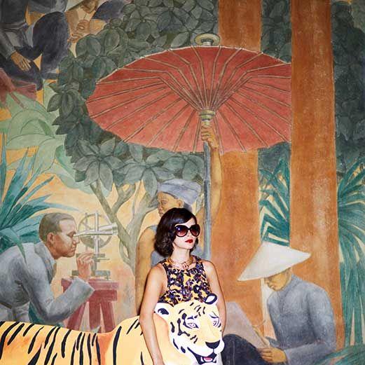 Bengal tiger, Carnivore, Temple, Sunglasses, Tiger, Felidae, Painting, Illustration, Siberian tiger, Big cats,