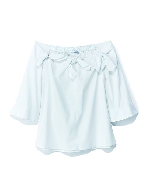 Clothing, White, Product, Blouse, Sleeve, Top, Shirt, Outerwear, Neck, T-shirt,