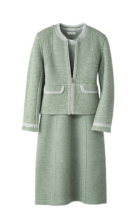 Clothing, Outerwear, Sleeve, Dress, Cardigan, Jacket, Blazer, Day dress, Top, Pattern,