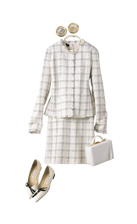 White, Clothing, Suit, Fashion, Formal wear, Footwear, Outerwear, Beige, Dress, Coat,