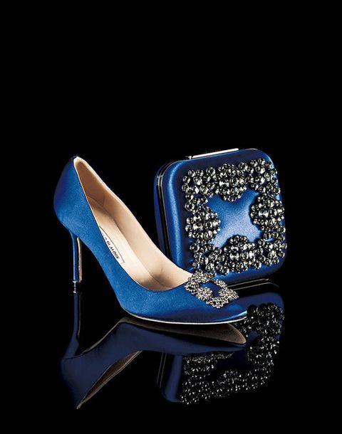 High heels, Blue, Footwear, Cobalt blue, Basic pump, Electric blue, Shoe, Bridal shoe, Leg, Chair,