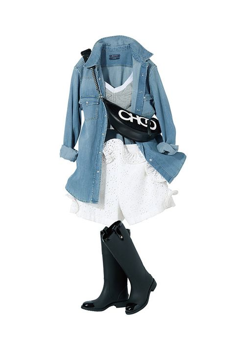 Clothing, Outerwear, Footwear, Turquoise, Fashion, Scarf, Fashion accessory, Sleeve, Electric blue, Shoe,