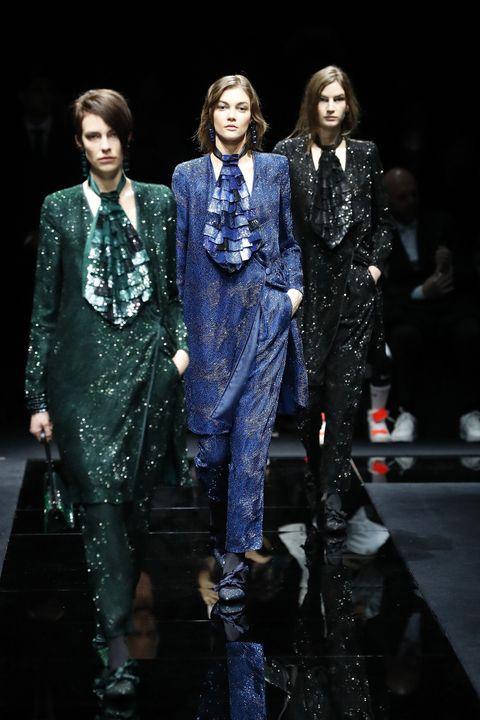 Fashion, Fashion model, Runway, Fashion show, Performance, Haute couture, Fashion design, Event,