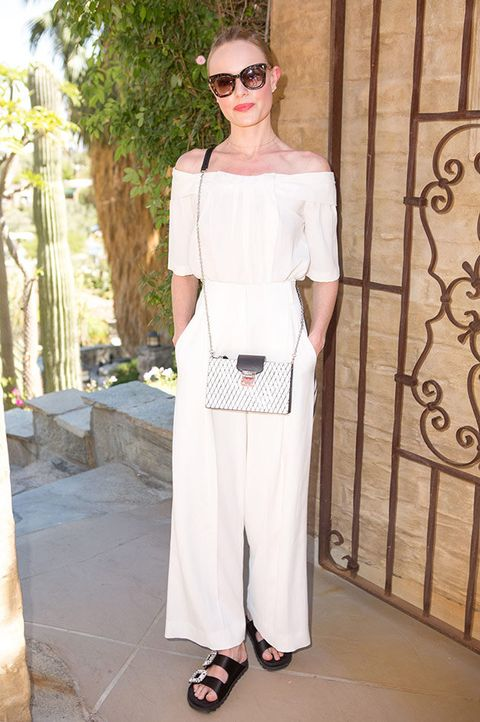 White, Clothing, Fashion, Shoulder, Street fashion, Eyewear, Fashion model, Haute couture, Sunglasses, Trousers,