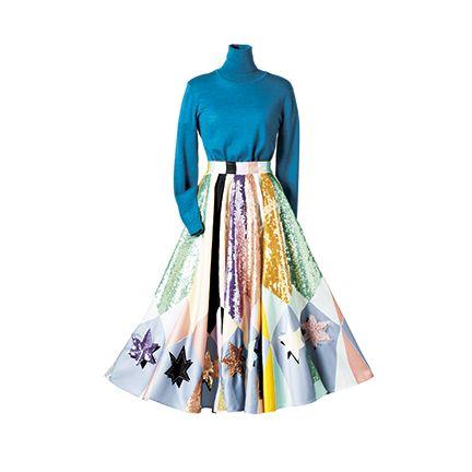 Clothing, Dress, Turquoise, Fashion, Fashion design, Costume design, A-line, Shoulder, Sleeve, Textile,