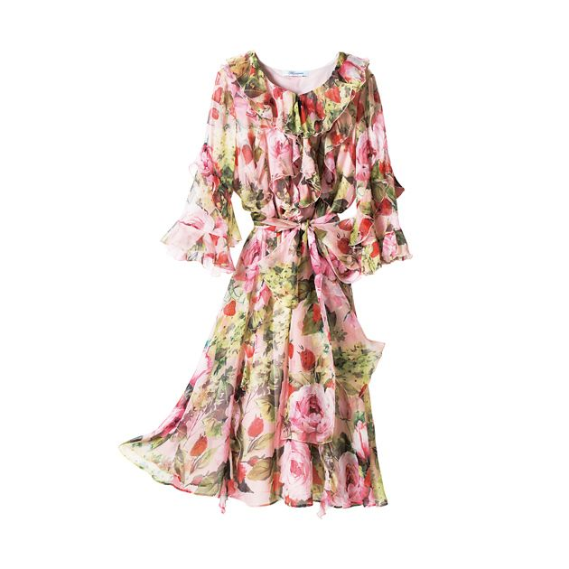 Clothing, Dress, Day dress, Pink, Sleeve, Shoulder, Robe, Neck, Outerwear, Joint,