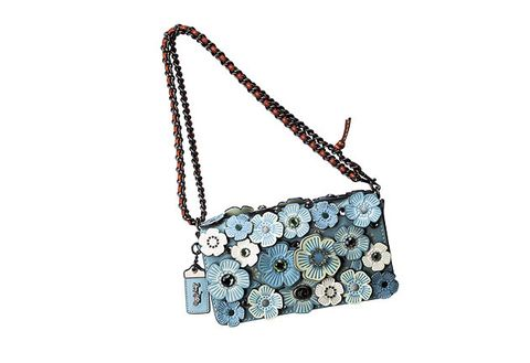 Bag, Handbag, Shoulder bag, Fashion accessory, Chain, Jewellery, Necklace, Turquoise, Satchel,
