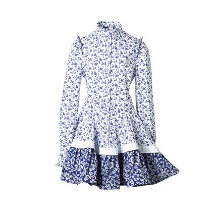 Clothing, White, Dress, Product, Outerwear, Sleeve, Pattern, Pattern, A-line, Day dress,