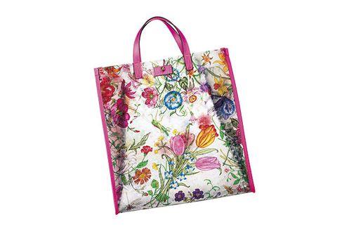 Bag, Handbag, Violet, Shopping bag, Fashion accessory, Tote bag, Shoulder bag, Magenta, Material property, Paper bag,