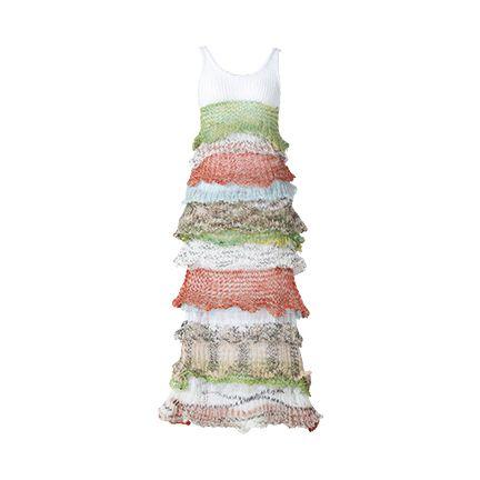 Dress, Peach,