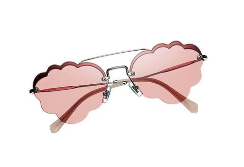 Eyewear, Glasses, Pink, Nose, Lip, Heart, Vision care, Cloud, Personal protective equipment, Sunglasses,