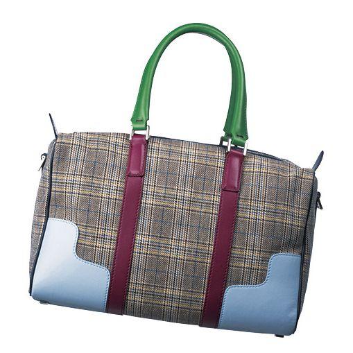 Handbag, Bag, Fashion accessory, Tote bag, Green, Product, Brown, Shoulder bag, Design, Pattern,
