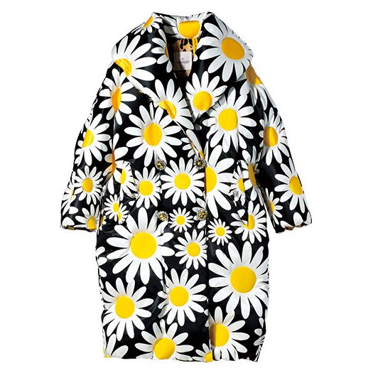 Clothing, White, Yellow, Day dress, Sleeve, Dress, Outerwear, Plant, Flower, Cover-up,