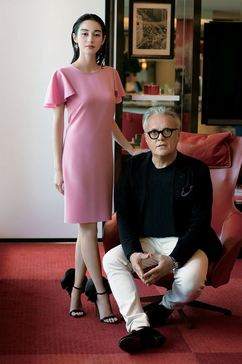 Pink, Shoulder, Fashion, Joint, Leg, Dress, Flooring, Fashion design, Event, Photography,