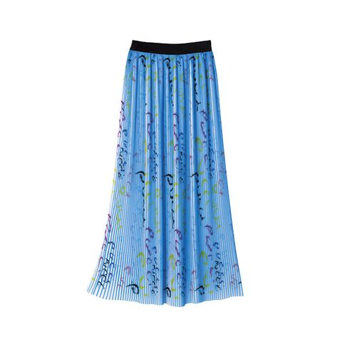 Clothing, Blue, Turquoise, A-line, Aqua, Dress, Waist, Electric blue,