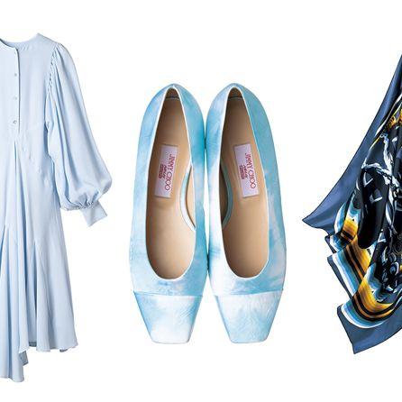 Footwear, Blue, Shoe, Court shoe, Denim, Leg, High heels, Jeans, Plimsoll shoe,