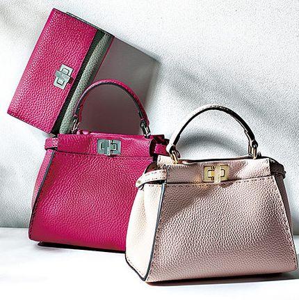 Handbag, Bag, Product, Fashion accessory, Shoulder bag, Pink, Beauty, Magenta, Leather, Material property,