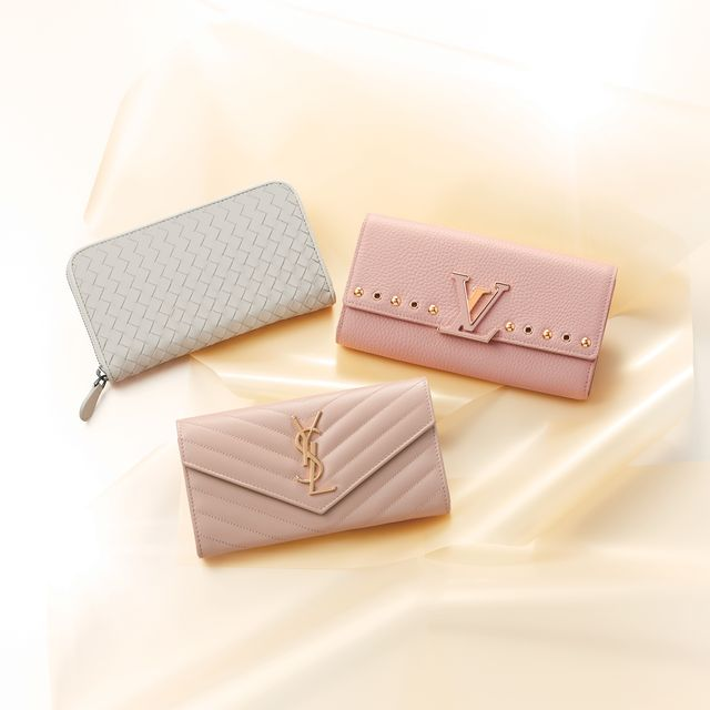 Wallet, Pink, Rectangle, Fashion accessory, Coin purse, Beige,