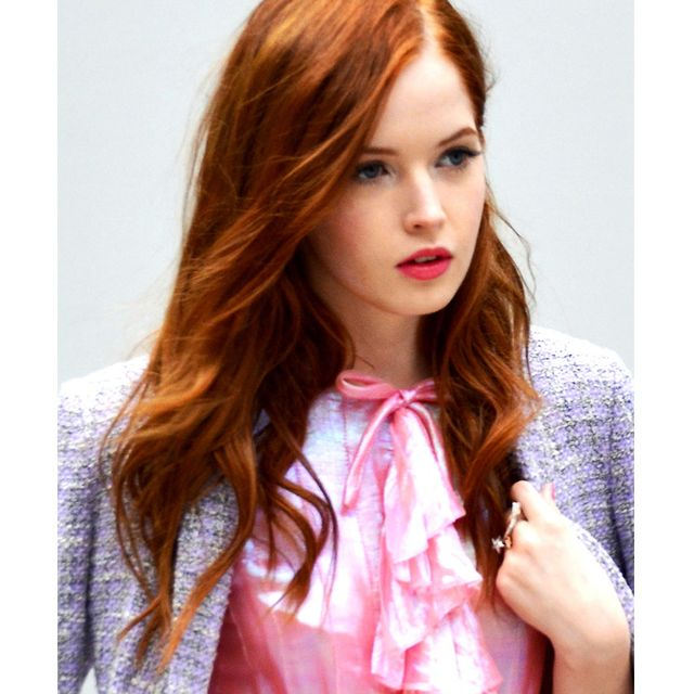 Clothing, Lip, Hairstyle, Sleeve, Collar, Shoulder, Textile, Joint, Style, Pink,