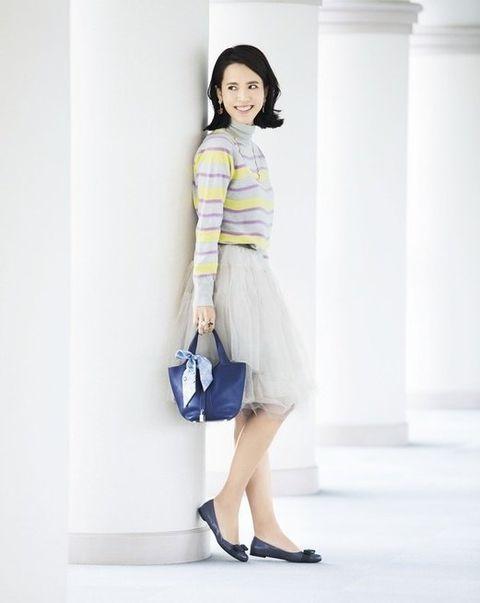 White, Clothing, Fashion model, Shoulder, Blue, Dress, Fashion, Yellow, Leg, Snapshot,