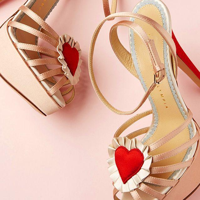 Pink, Carmine, Sandal, Peach, Stationery, Kitchen utensil, Bridal shoe, Slingback, Fashion design, Shoulder bag,
