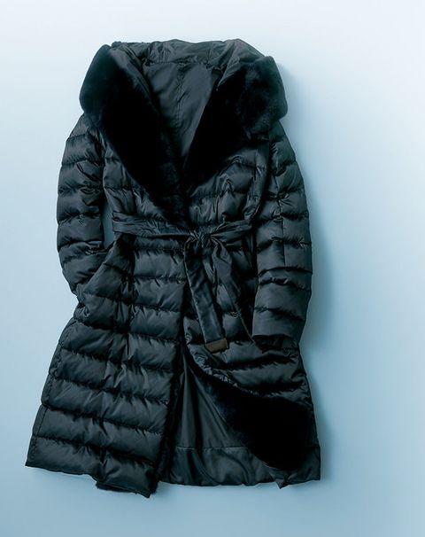 Clothing, Black, Outerwear, Jacket, Hood, Sleeve, Puffer, Coat, Fur, Overcoat,
