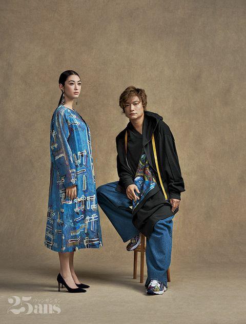 Fashion, Fashion design, Outerwear, Costume, Textile, Kimono, Photography, Style,