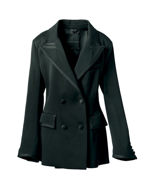 Clothing, Outerwear, Coat, Jacket, Blazer, Overcoat, Sleeve, Trench coat, Collar, Frock coat,