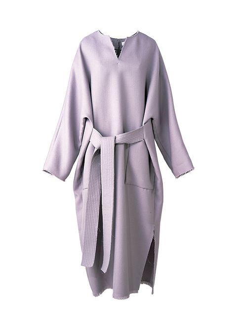 Clothing, Robe, Purple, Violet, Dress, Sleeve, Lilac, Lavender, Nightwear, Costume,