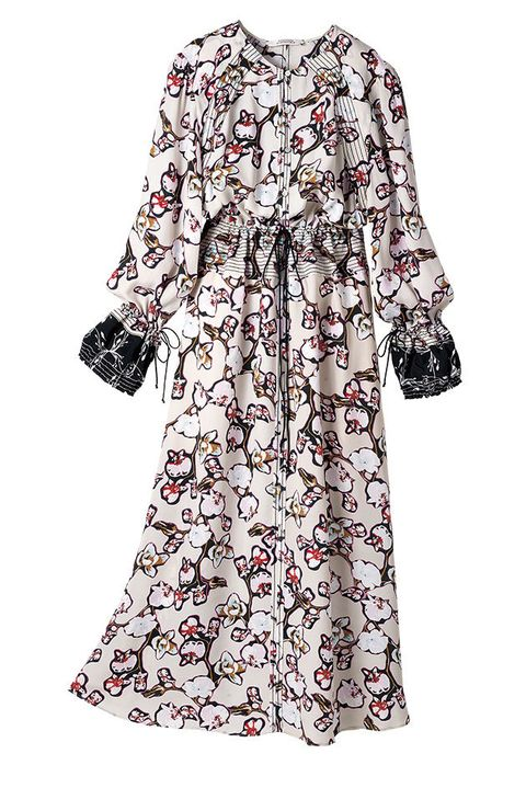 Clothing, White, Day dress, Dress, Sleeve, Robe, Outerwear, Blouse, Pattern, Top,