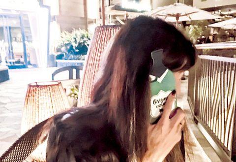 Hair, Hairstyle, Long hair, Beauty, Black hair, Cool, Brown hair, Photography, Ear, Smile,