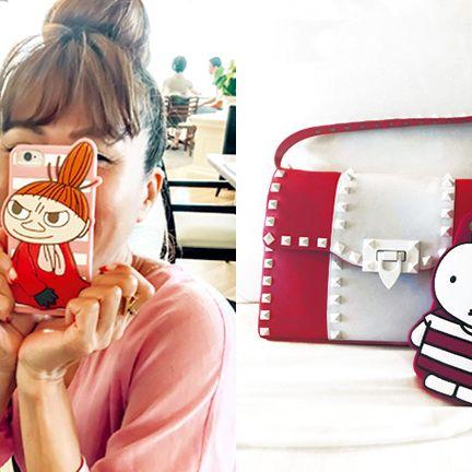 Ear, Pink, Cartoon, Fashion accessory, Neck, Bag, Rabbit,