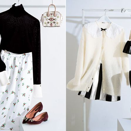 Clothing, White, Black, Clothes hanger, Shoulder, Outerwear, Sleeve, Footwear, Dress, Black-and-white,