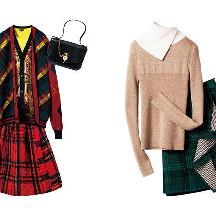 Clothing, Tartan, Plaid, Pattern, Outerwear, Textile, Sleeve, Design, Costume design, Dress,