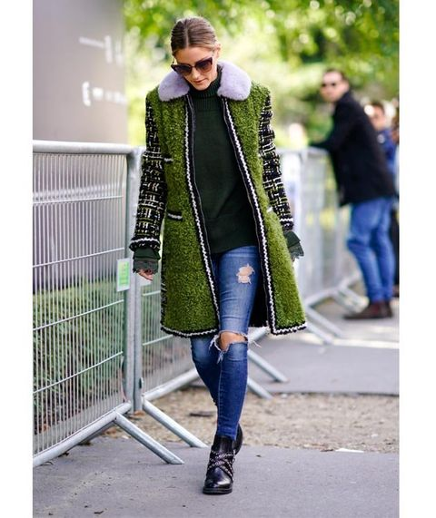 Clothing, Street fashion, Fashion, Outerwear, Coat, Footwear, Snapshot, Jeans, Overcoat, Jacket,