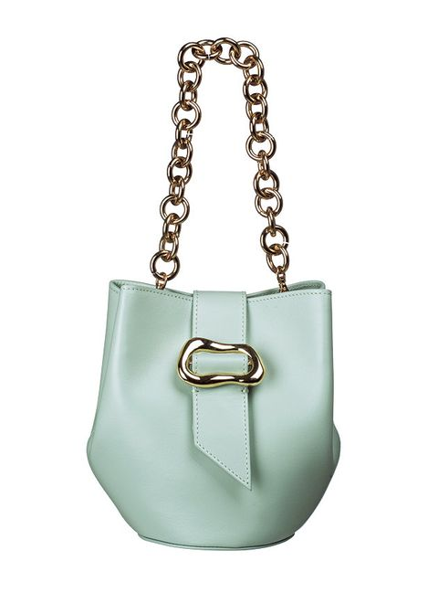 Bag, Handbag, Shoulder bag, White, Aqua, Fashion accessory, Turquoise, Product, Leather, Teal,