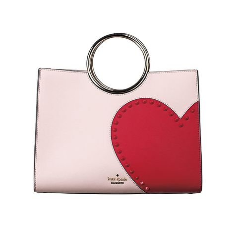 Red, Fashion accessory, Keychain, Heart, Pink, Handbag, Bag, Material property,