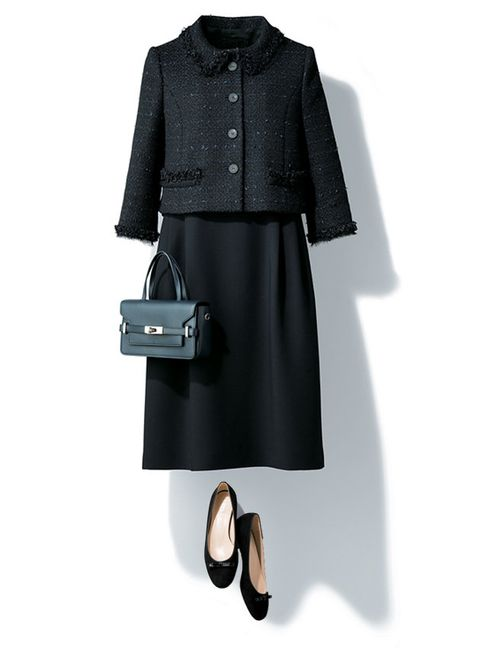 Clothing, Black, Coat, Trench coat, Outerwear, Overcoat, Footwear, Fashion, Sleeve, Dress,