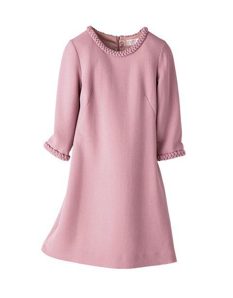 Clothing, Pink, Dress, Sleeve, Violet, Lilac, Purple, Lavender, A-line, Neck,
