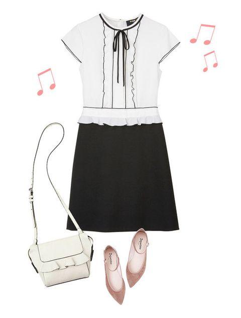 Product, Collar, Sleeve, White, Style, Toe, Pattern, Bag, Fashion, Uniform,