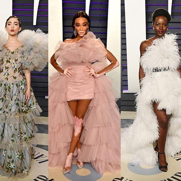 Fashion model, Fashion, Clothing, Haute couture, Dress, Fashion design, Shoulder, Gown, Costume design, Event,