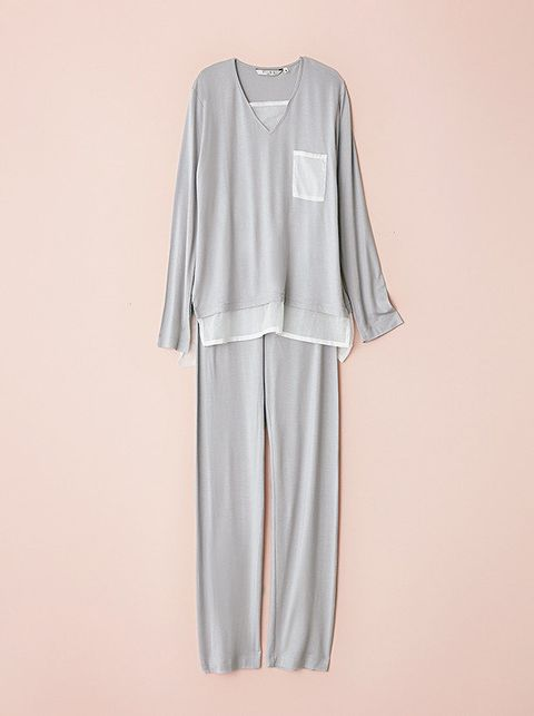 Clothing, White, Sleeve, Nightwear, Dress, Outerwear, Day dress, Blouse, Robe, Neck,