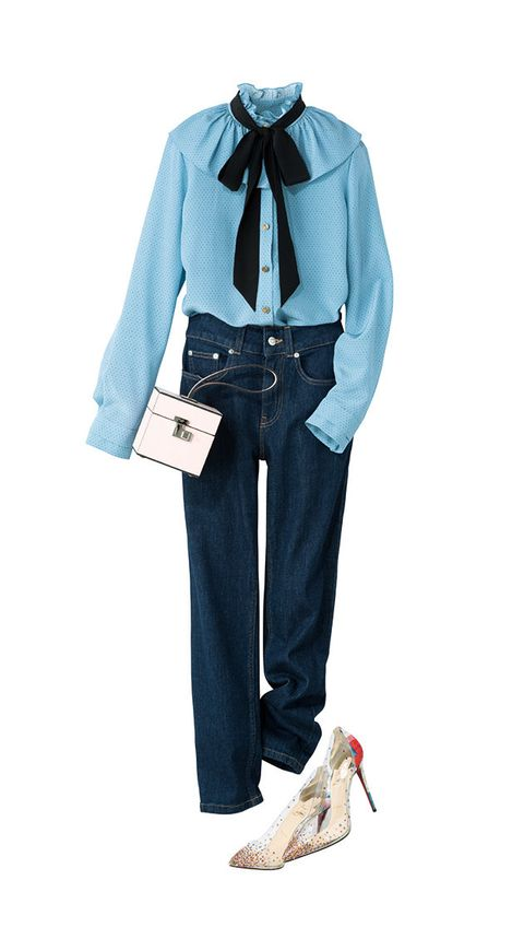 Clothing, Blue, Jeans, Denim, Costume, Footwear, Outerwear, Sleeve, Trousers, Electric blue,