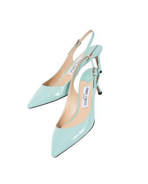 Footwear, Slingback, Turquoise, Shoe, Court shoe, Aqua, Mary jane, High heels, Beige, Turquoise,