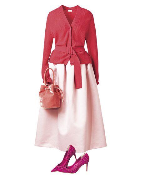 Clothing, Pink, Outerwear, Dress, Footwear, Fashion, Magenta, Sleeve, Shoe, Neck,